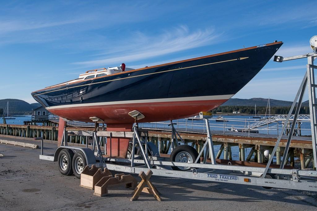 Sailboat Tiller Cover Large Size Sunbrella Cover