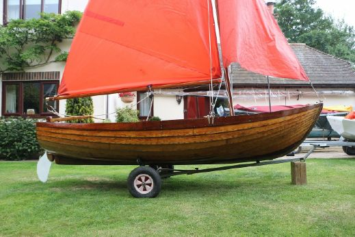 1960 Traditional 12' Sailing Dinghy