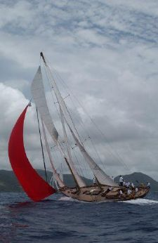 1983 John Alden Staysail Schooner