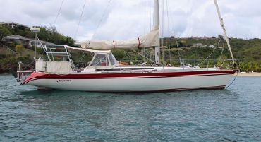 1983 Oyster 43