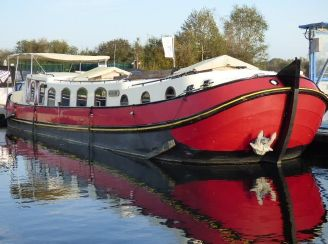 2009 Barge 50' Euroship Replica Tjalk