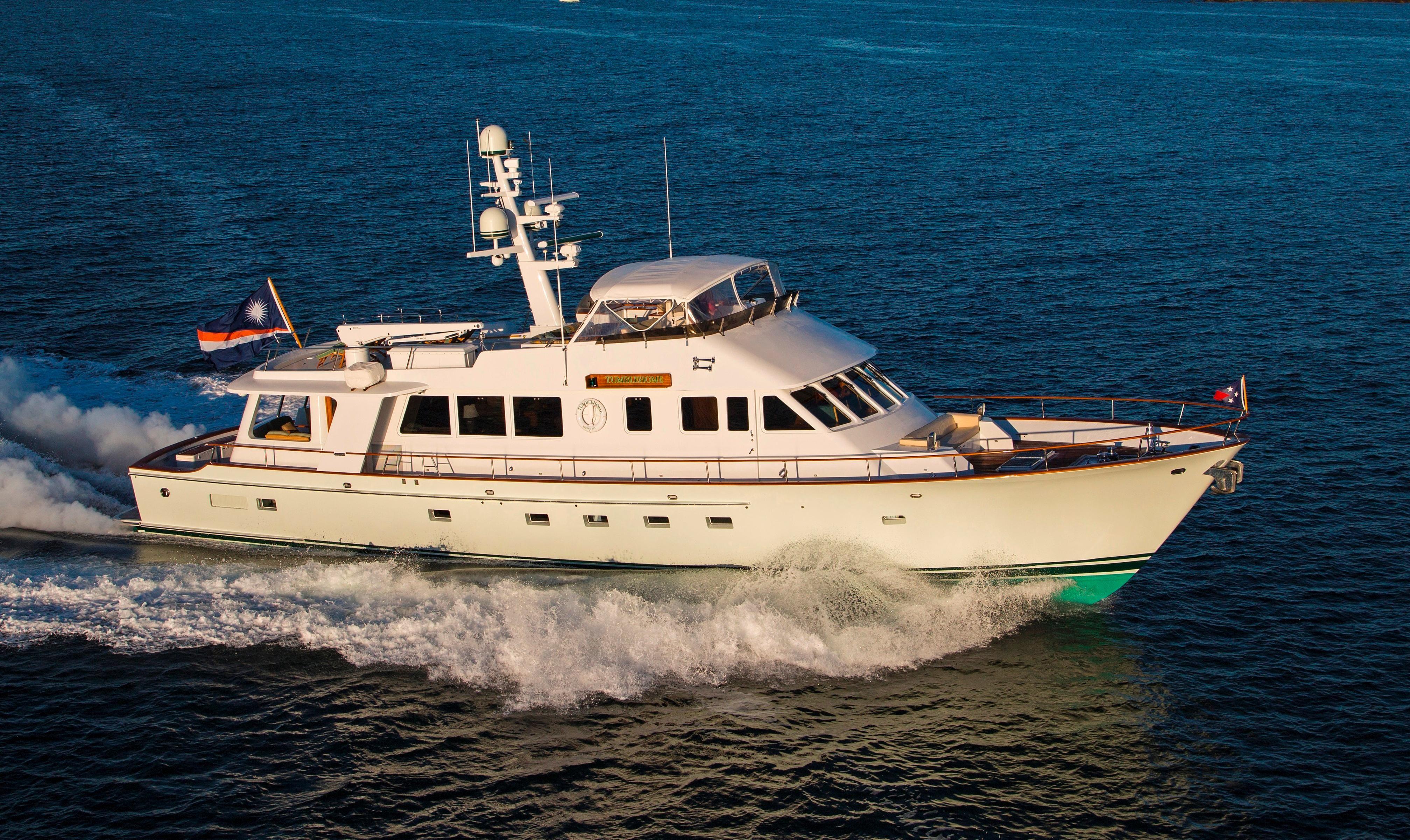 Motor Yacht: 1997 Lyman Morse Motor Yacht Power Boat For Sale