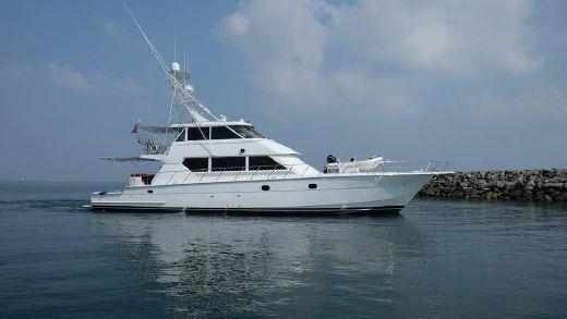 2000 Hatteras 82 Custom Yacht