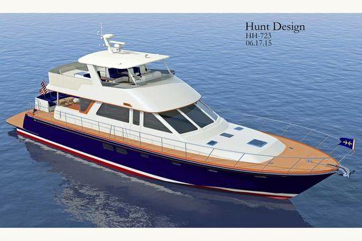 2016 Hunt Yachts 72