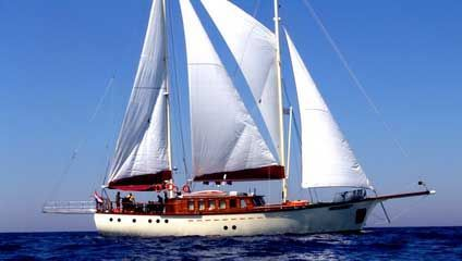 2008 Stay-Sail Schooner Traditional Turkish Motorsailer