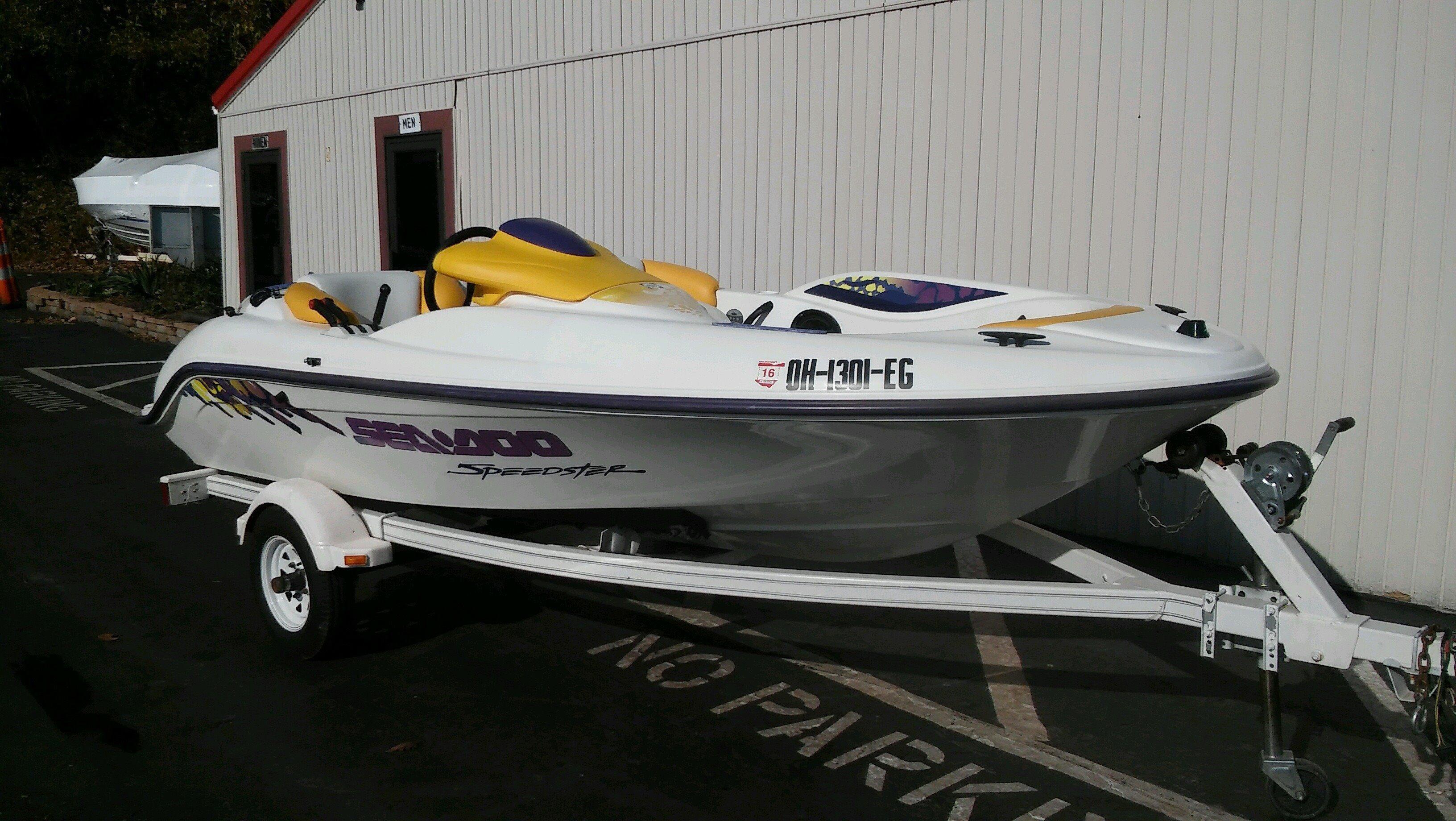 1996 Sea-Doo Speedster Power Boat For Sale - www ...