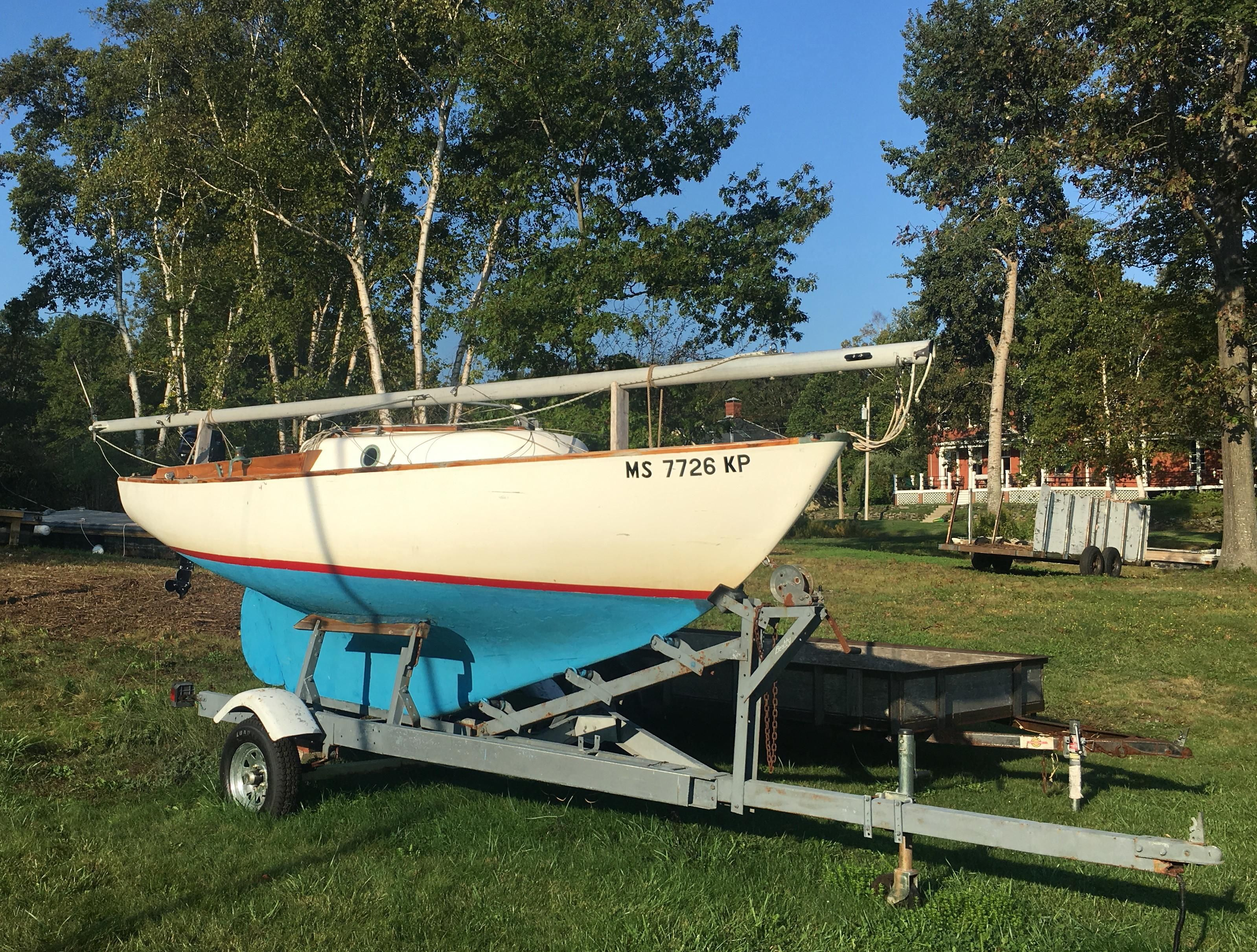 Cape Dory Typhoon >> 1976 Cape Dory Typhoon, trailer and updates Sail Boat For