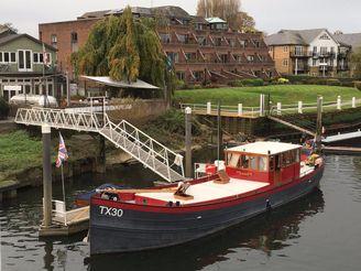 1906 Barge 19.5m Coverted Dutch Shrimper