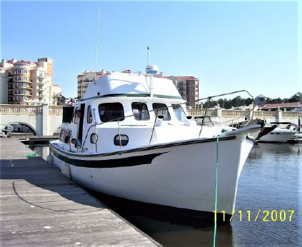 1985 Rosborough RF-35 Atlantic Trawler