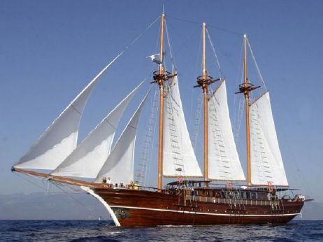 2002 3 Mast Schooner Traditional Turkish Gulet