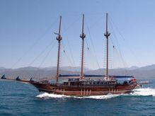 2003 3 Mast Schooner Traditional Turkish Gulet