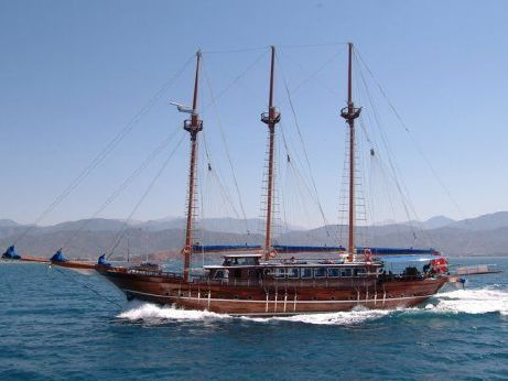 2003 3 Mast Schooner Traditional Turkish Gulet