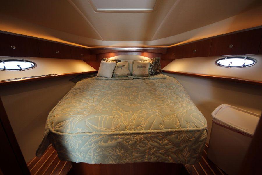 Tiara 36 Open Bedroom