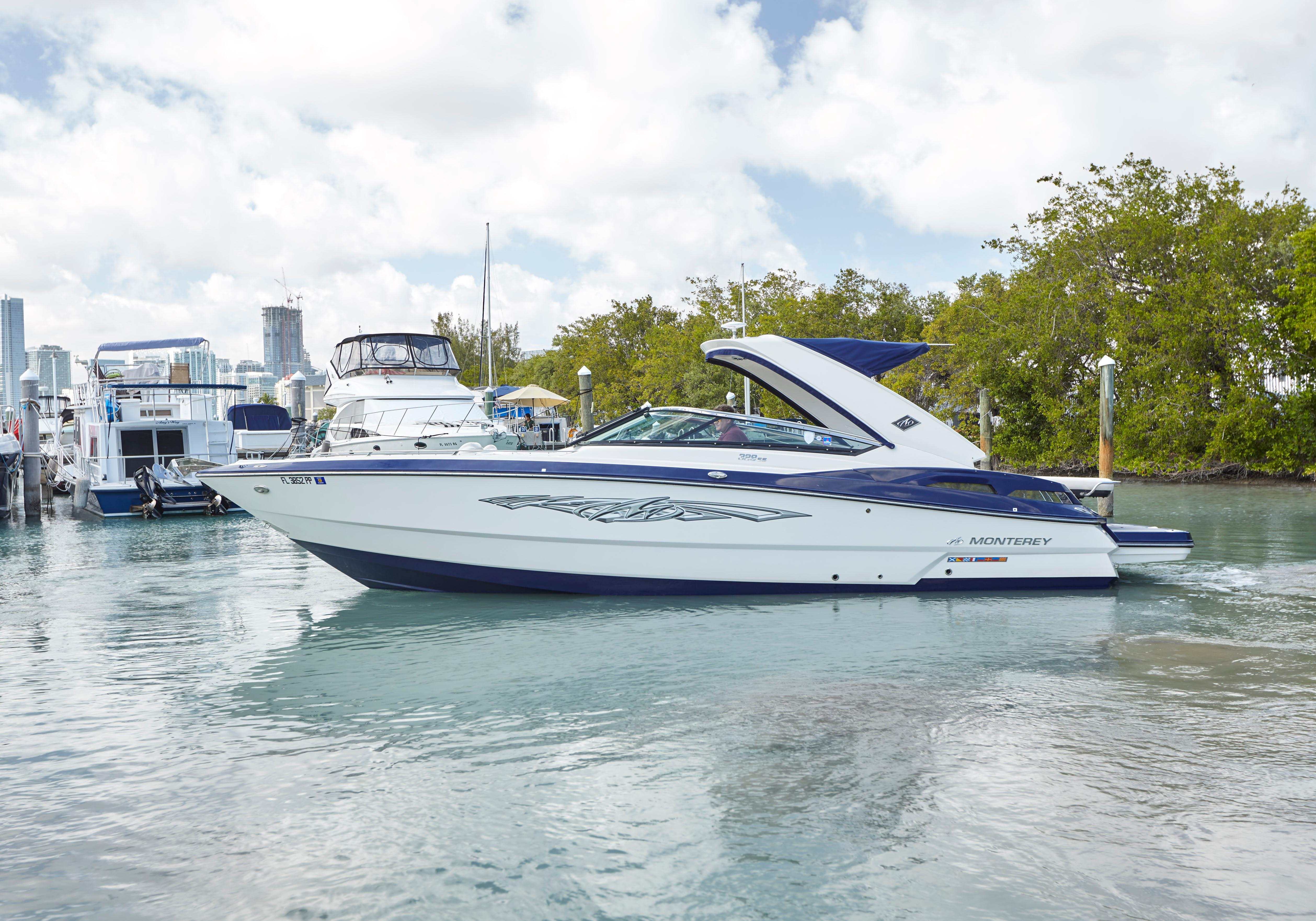 2013 Monterey 328 Ss Power New And Used Boats For Sale