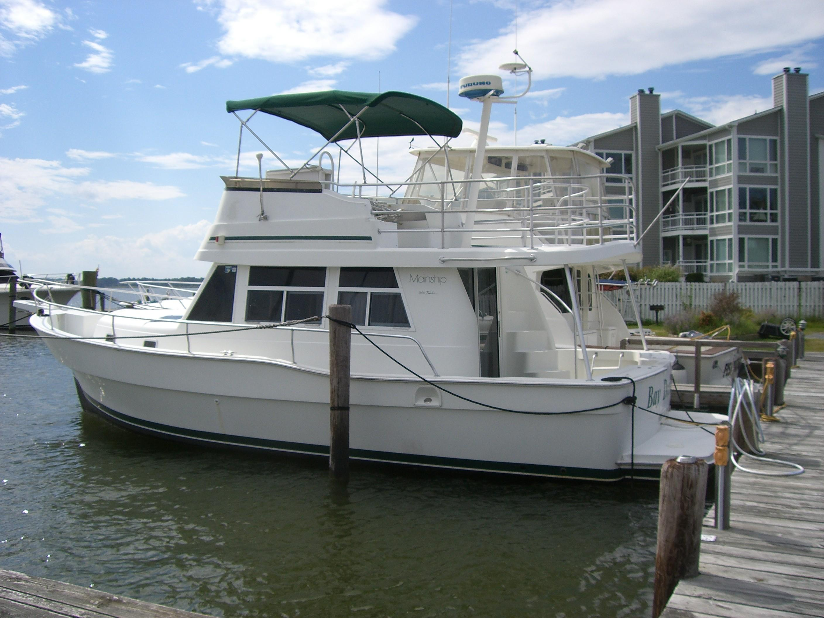 Mainship new and used boats for sale in maryland for Used fishing boats for sale in md