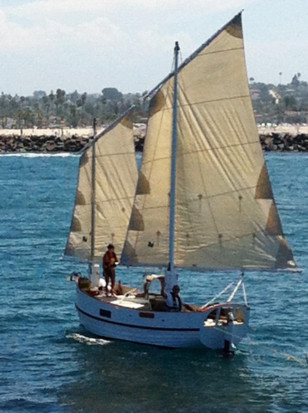 1999 Devlin/Bolger Sharpie Sail Boat For Sale - www ...