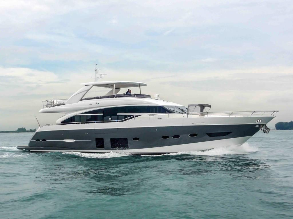 2014 princess 88 motor yacht power new and used boats for sale for Used boats and motors