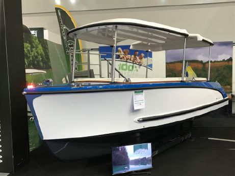 2017 Alfastreet Marine 18 Open Electric