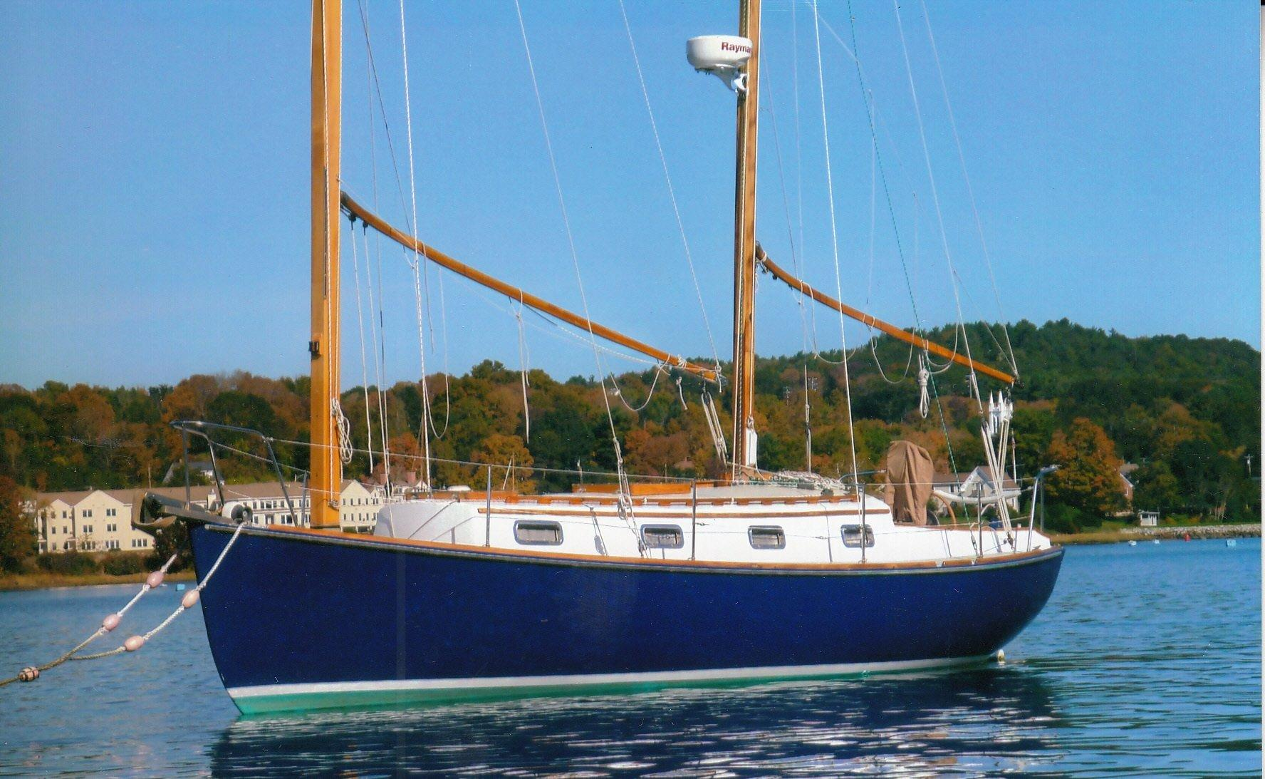 1981 Herreshoff Cat Ketch 31 Sail New And Used Boats For Sale