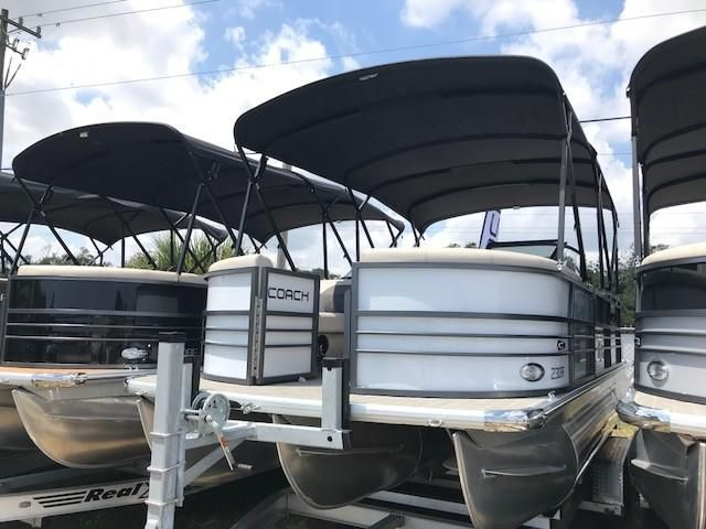 2018 Coach Pontoons 230DCRF Power Boat For Sale - www