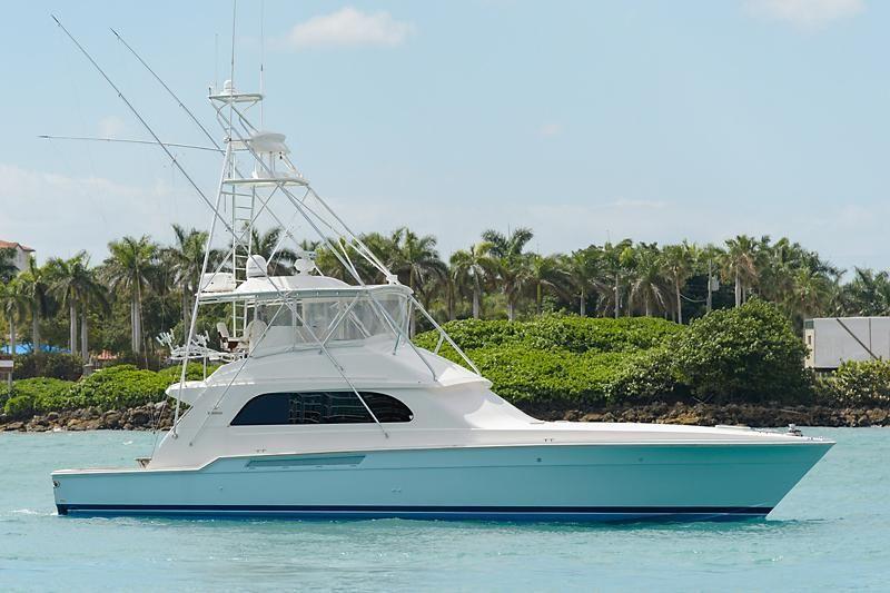 2000 Bertram 60 Convertible Power Boat For Sale Www