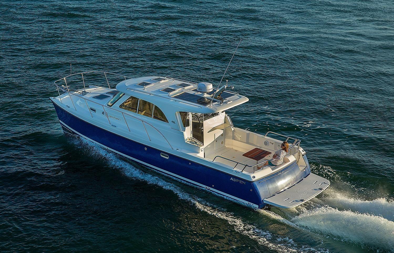 2019 Aspen Power Catamaran C100 Escape Power Boat For Sale ...  2019 Aspen Powe...