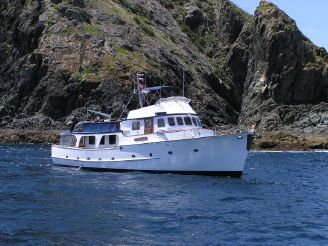 1974 Miller And Tunnage pilothouse motoryacht