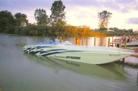 1997 American Offshore 3100