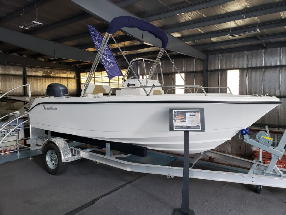 2018 Edgewater 170CC Center Console Power Boat For Sale
