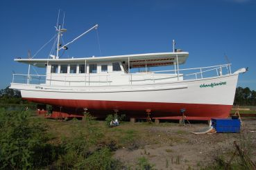 1984 Custom Trawler Biloxi Lugger