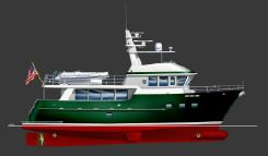 2011 Custom EXPEDITION TRAWLER 7200 SERIES