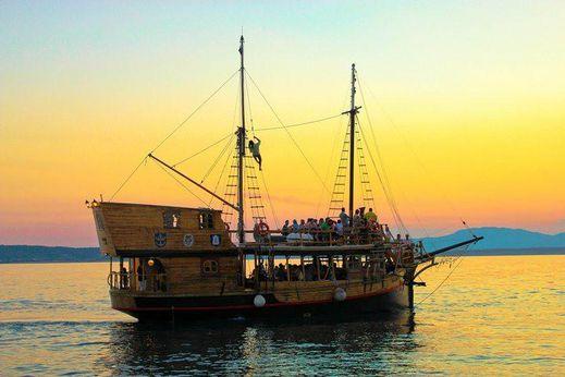 1967 Ladjedelnica Piran Wooden Sailing Passenger Ship