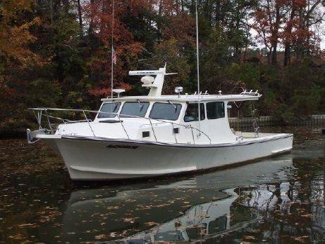 2000 Chesapeake Bay Boat By Thomas Fiberglass 42
