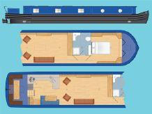 """2020 Wide Beam Narrowboat Tingdene Colecraft 70 x 12'06"""""""