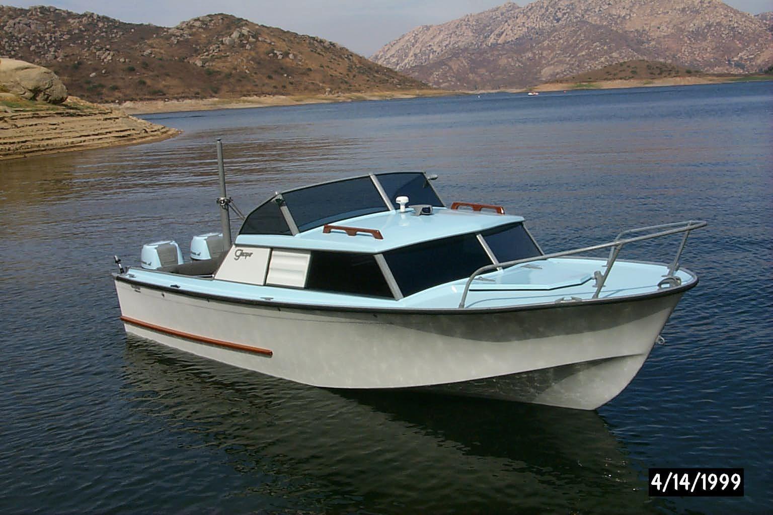 1959 Glasspar Seafair Sedan Power Boat For Sale - www ...