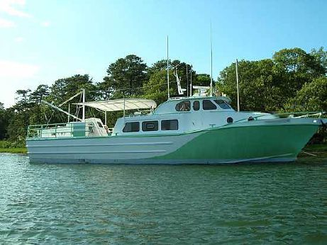 1982 Breaux Bay Aluminum Crew Boat