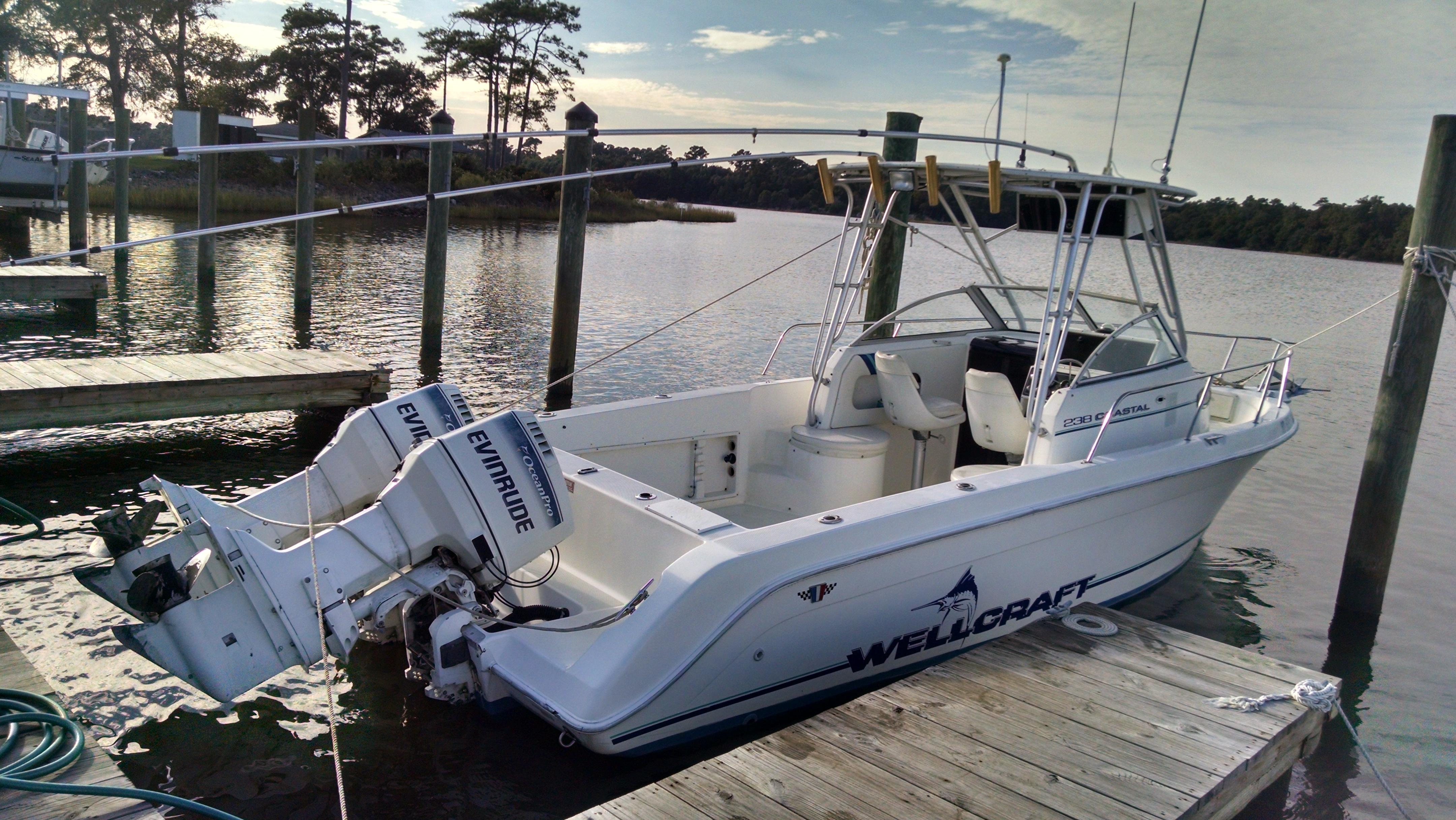Wellcraft 24 Wiring Diagram Free Download Venture Trailer 1995 238 Coastal Power Boat For Sale Www Yachtworld Com At