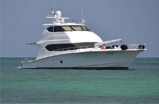 2012 Hatteras 68 Enclosed Bridge
