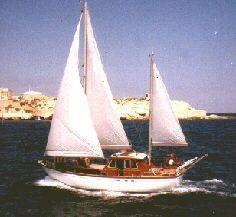 1984 Tortuga 38 Motor Sailor