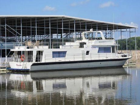 1978 Pluckebaum 72 Baymaster Houseboat