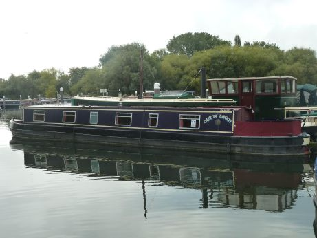 1998 Abc 56' Cruiser Stern Narrowboat