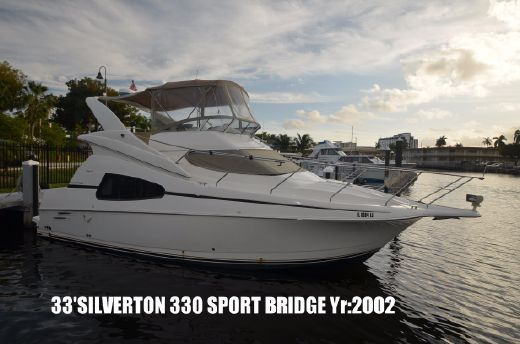 2002 Silverton 330 Sport Bridge