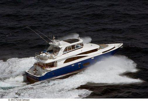 2017 Johnson Flybridge w/Fishing Cockpit