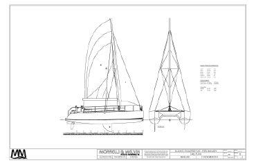 """2020 Mm 45 Charter Catamaran Subchapter """"T"""" - 49 Passenger"""