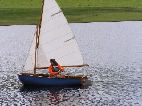 1960 Fairey Duckling sailing dinghy