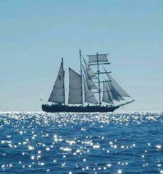 2009 Tall Ship Three Masts barquentine