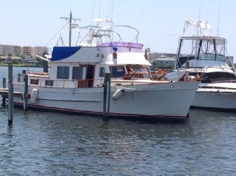 1981 Marine Trader Trawler