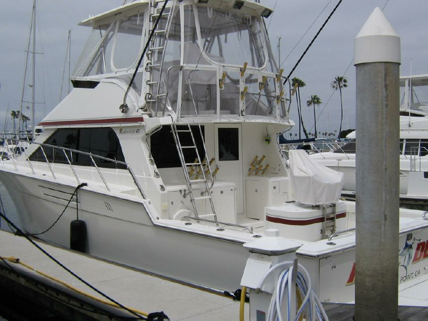 Radovcich 45 Sportfishing yacht for sale in Long Beach