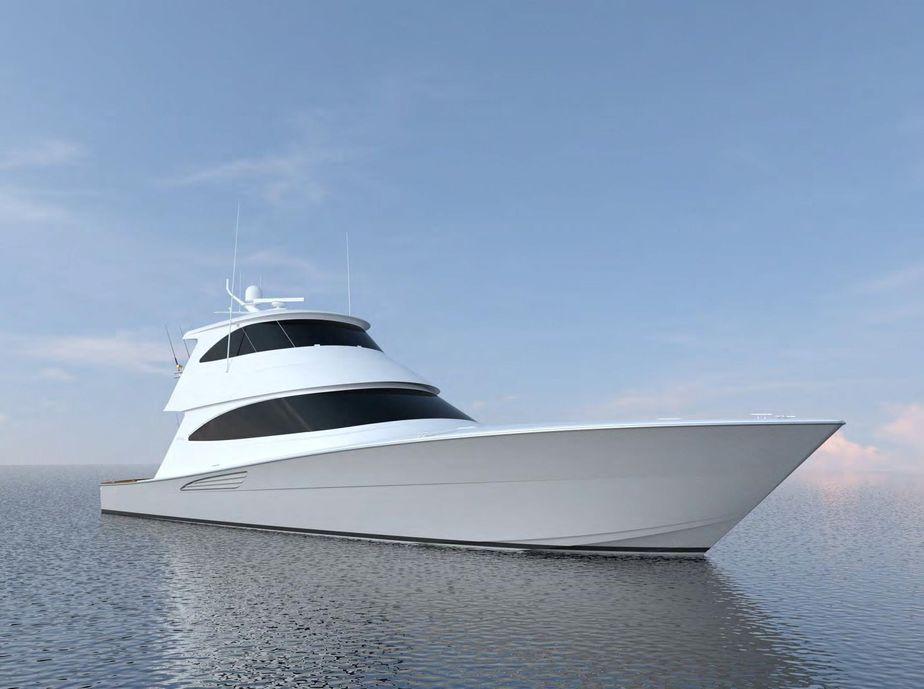 2018 Viking 72 Enclosed Bridge VK72 618 Power Boat For Sale