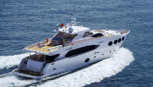 2013 Majesty Yachts 105